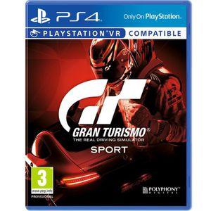 JEU PS4 Gran Turismo Sport Jeu PS4/VR