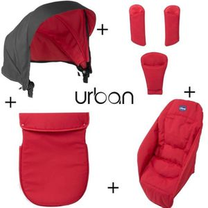 PACK VOYAGE CHICCO Pack Coloris Urban Red Wave