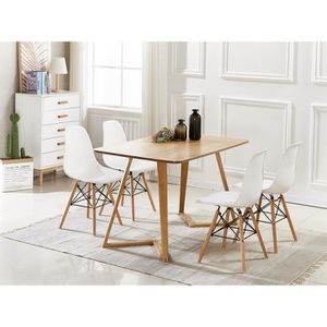 TABLE DE CUISINE  Table de salle à manger Dallas moderne et ensemble