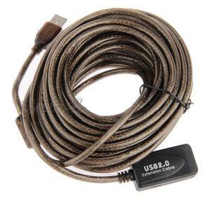 CÂBLE INFORMATIQUE Extension Cable de Données USB 2.0 10M Répétiteur
