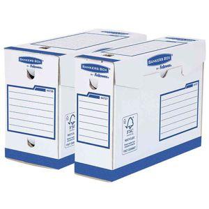 Boîte à archive Lot de 20 BANKERS BOX Basic Boîte d archives Heavy