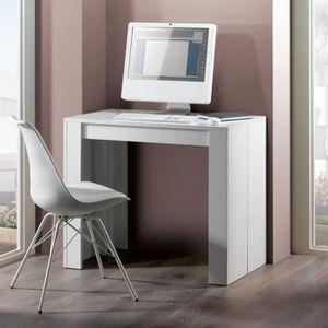 CONSOLE EXTENSIBLE FINLANDEK Table console extensible 8 personnes - B