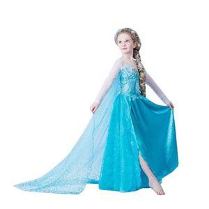 DÉGUISEMENT - PANOPLIE ELSA Princesse Déguisement Robes Cosplay Enfant Dé