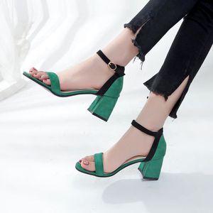 SANDALE - NU-PIEDS Femme Sandales Pumps Talon Haut Ete Fashion Nouvea