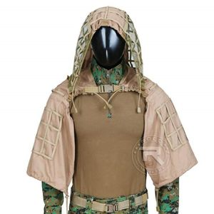 VÊTEMENT DE CAMOUFLAGE Chasse Ghillie Viper Hood Sniper Tactical Ghillie