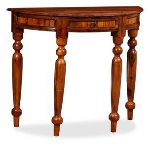 CONSOLE EXTENSIBLE vidaXL Table console Bois solide de Sesham 90 x 40