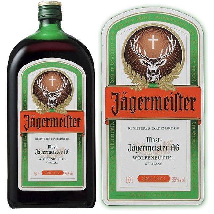 Jagermeister 1 Litre Achat Vente Liqueur Jagermeister 1 Litre