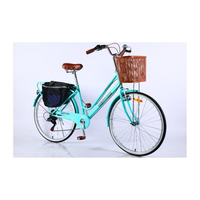 Velobecane Honfleur Vélo de ville Turquoise