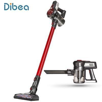 Dibea C17 2-en-1 Aspirateur vertical sans fil Rouge