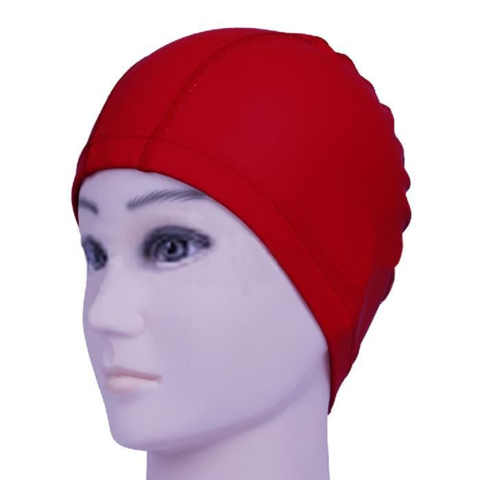 Le capuchon de bain d'unité centrale imperméable d'unité centrale imperméable protège le chapeau de natation d'oreilles long cheveux