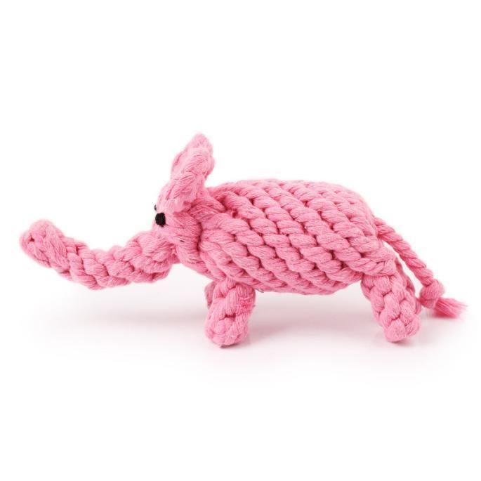 Chien Jouets Coton Corde Propre Pet Dents Mâcher Os Brinquedos Rose-lxx60804209_3780