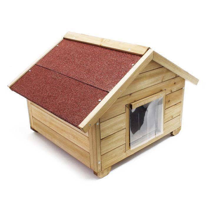 niche pour chat pour exterieur achat vente niche pour. Black Bedroom Furniture Sets. Home Design Ideas
