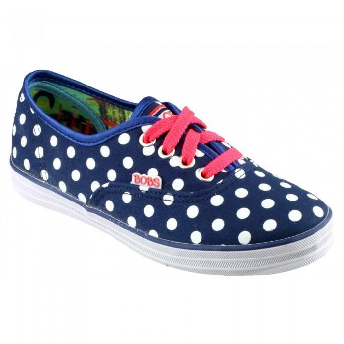 Skechers SK85494 - Chaussures à pois en toile - Fille