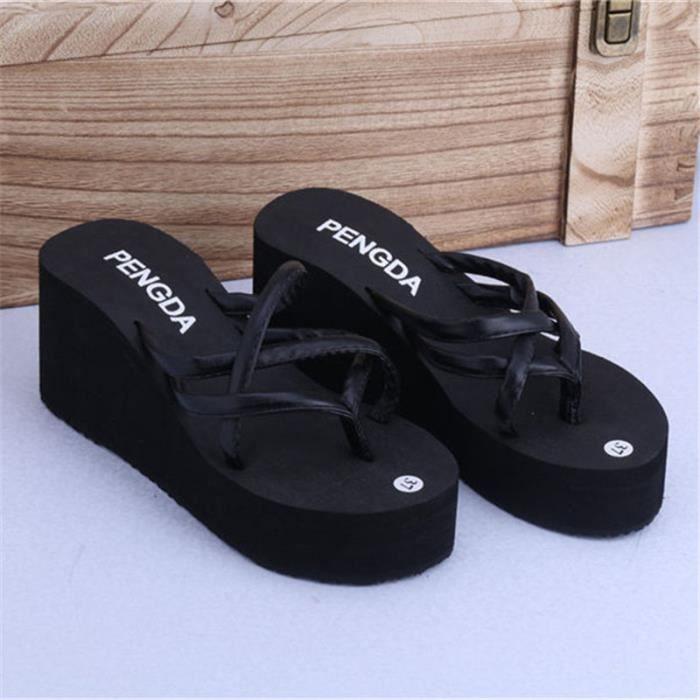 Sandale Femme Extravagant Nouvelle Arrivee Chaussure Respirant Chaussure Meilleure 36-47 v5Qd2gP
