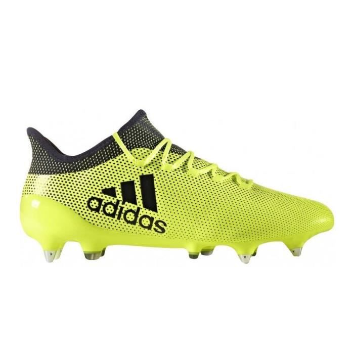 best service 23f96 38ee6 CHAUSSURES DE FOOTBALL ADIDAS - ADIDAS X 17.1 SG Leather - S82319 - (39 1 .