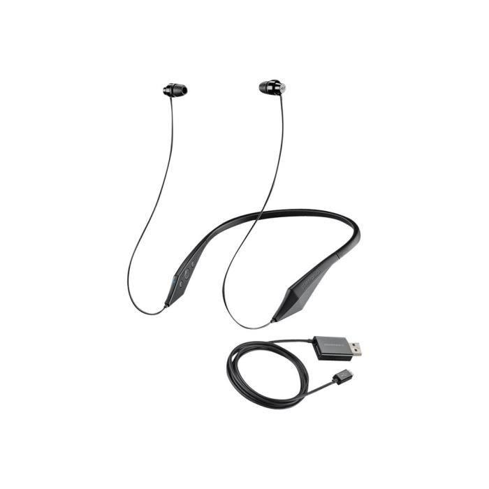 Plantronics Backbeat 100 Écouteurs Avec Micro Intra-auriculaire Montage Derrière Le Cou Sans Fil Bluetooth