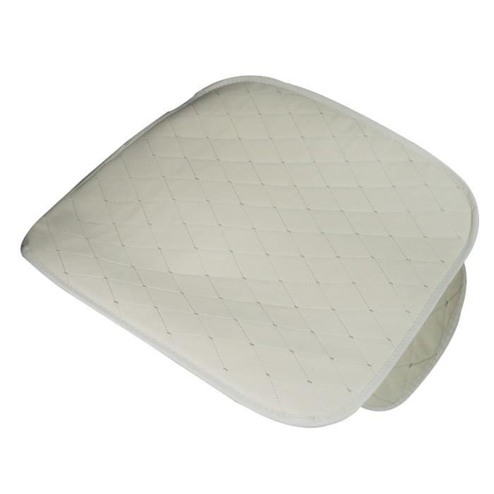 Housse de coussin respirante souple en simili cuir avec siège pour