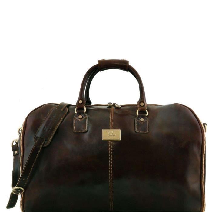 Tuscany Leather Antigua - Sac de voyage/Housse de transport vêtements en cuir - TL141538 (Naturel) TS5GmEOH