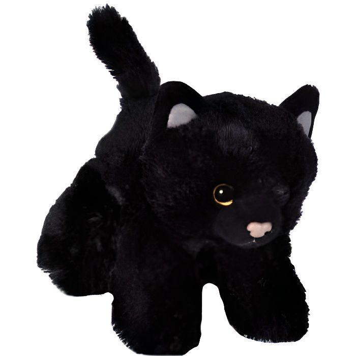 peluche chat noir achat vente jeux et jouets pas chers. Black Bedroom Furniture Sets. Home Design Ideas