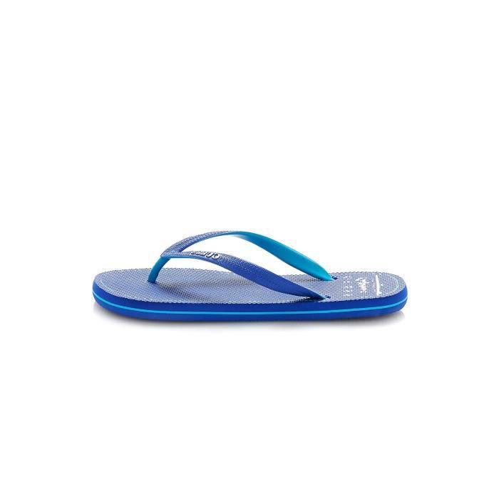 Tongs logotées F72Z05 -GUESS JEANS Bleu Homme