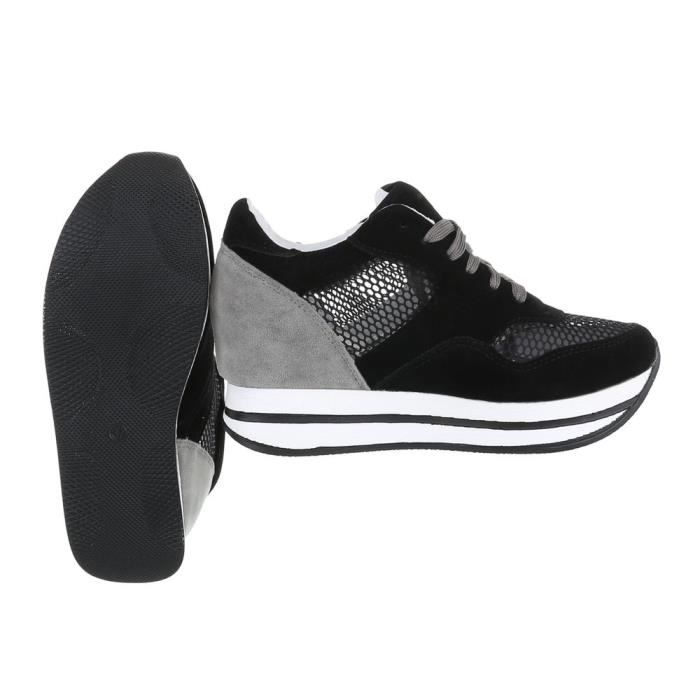 Chaussures femme chaussures sportSneakers noir 36