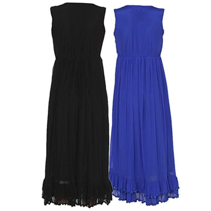 Womens Black & Royalblue Party Dress (pack Of 2) ULXXX Taille-36