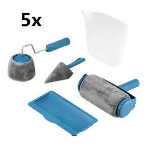 ROULEAU DE PEINTURE Lot de 5 Rouleau de Peinture kit , Grip à roulea,R