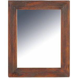 Miroir shabby achat vente miroir shabby pas cher for Miroir deco bois