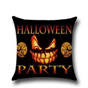 HOUSSE DE COUSSIN Housse de coussin Happy Halloween Canapé-lit Home