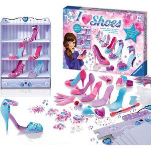 JEU DE MODE - COUTURE - STYLISME RAVENSBURGER SO STYLY I Love Shoes (Atelier de Cré