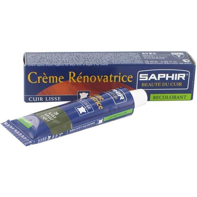 Crème rénovatrice cuir - rouge cerise - tube 25ml