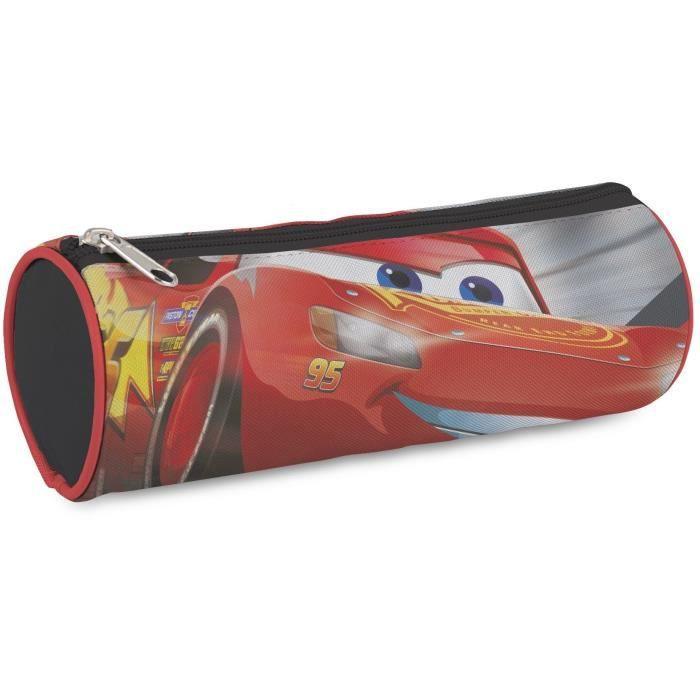 Disney fourre tout rond cars 23cm