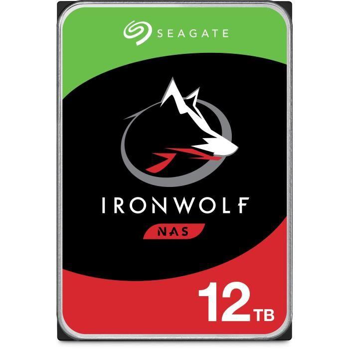 SEAGATE Disque dur pour NAS Ironwolf 3.5