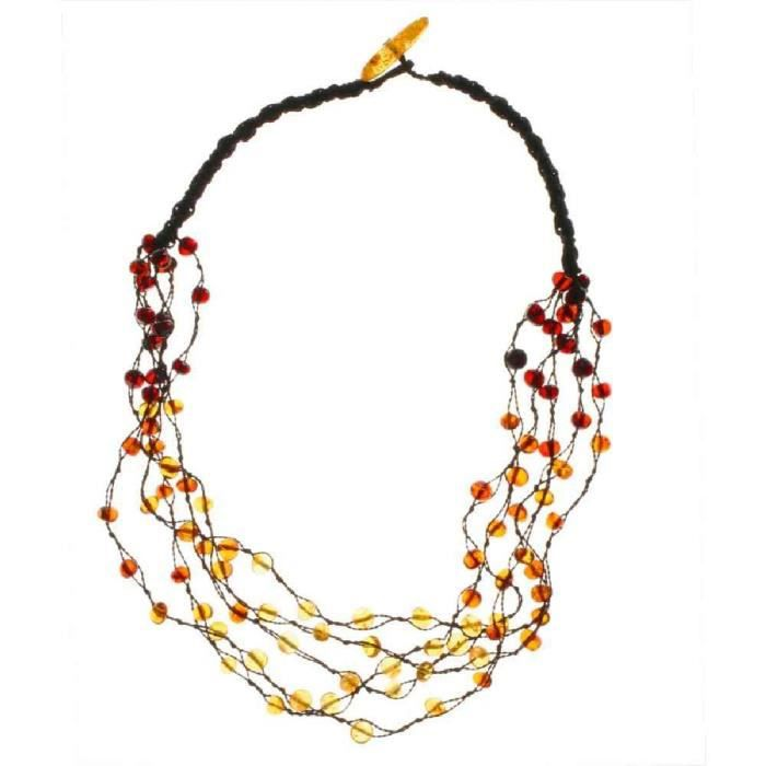 In Collections - 081044b049l570 - Collier Femme - Ambre GQ34P