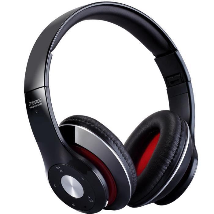 Sans Fil Bluetooth Casque Avec Audio Line Bandeau Hifi Stéréo Mp3