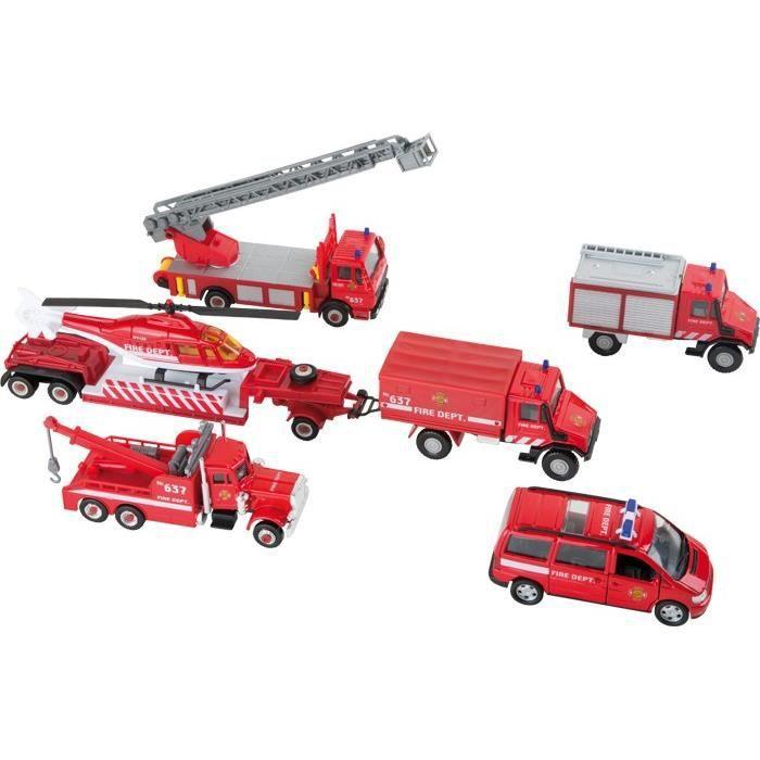 voitures miniatures pompiers achat vente jeux et. Black Bedroom Furniture Sets. Home Design Ideas