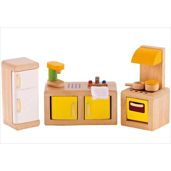 meubles pour maison poup es cuisine achat vente maison poup e cdiscount. Black Bedroom Furniture Sets. Home Design Ideas