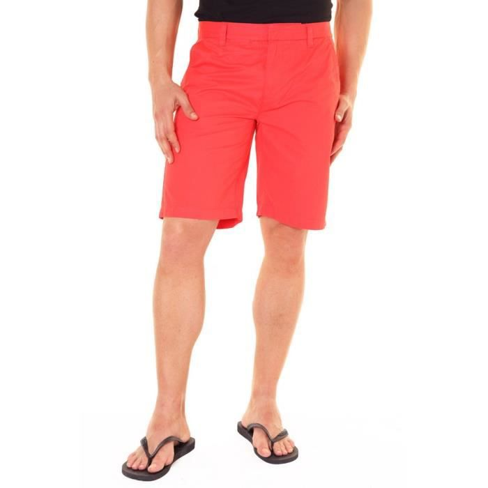 f5493cb0ee47f Pepe Jeans LONDON fairfax bermuda homme rouge Rouge - Achat / Vente ...