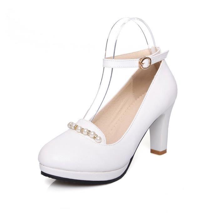Femmes De Chaussure Sexy Avec Ornement Populaire Mignon Solide élégant Club Mariage Soiree