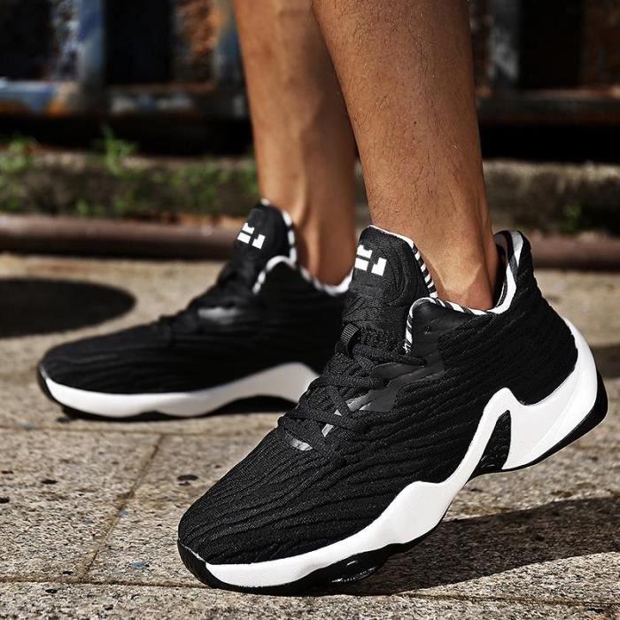 en soldes e0c24 f67a5 grande taille 36 - 45 des chaussures de basket unisexe respirable baskets  chaussures chaussures casual
