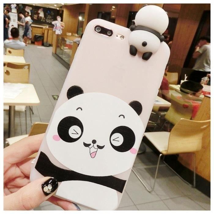 coque iphone 8 plus animaux 3d