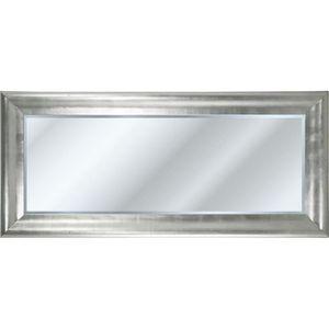 Miroir biseaute achat vente pas cher for Miroir gris argent