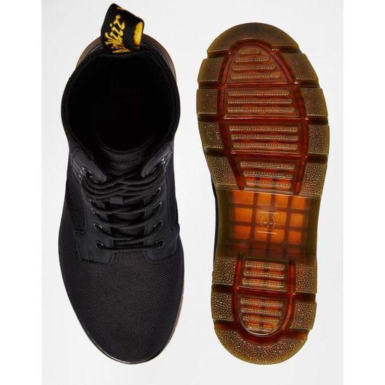 3eac27ea0915a1 Dr Martens Tract Fold - Bottes NZHAY Noir Noir - Achat / Vente botte -  Soldes d'été l 26 juin Cdiscount
