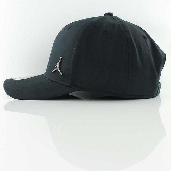 Casquette Noire Air Jordan Homme Nike Logo en Métal noir - Achat   Vente  casquette 3662891088894 - Cdiscount d5088ee648b0