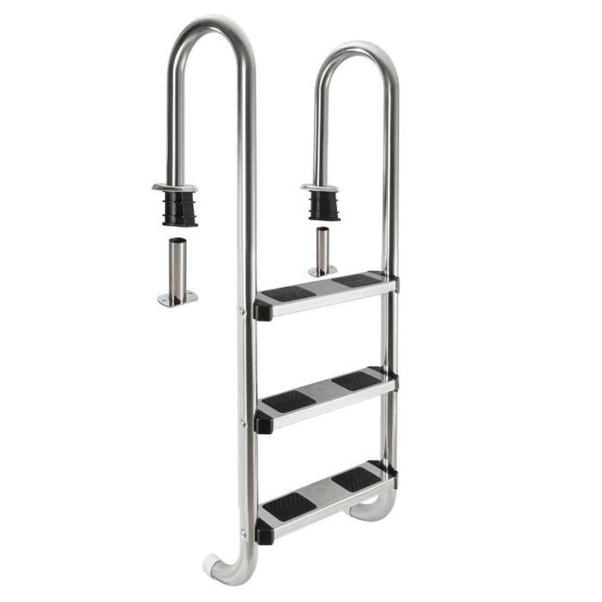 marche pour echelle piscine achat vente pas cher. Black Bedroom Furniture Sets. Home Design Ideas