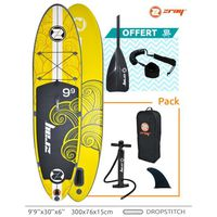 STAND UP PADDLE POOLSTAR Stand Up Paddle ZRAY-X1 avec sac de trans