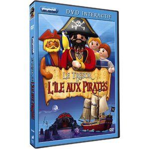 DVD DESSIN ANIMÉ DVD Playmobil : Le trésor de l'île aux pirates