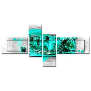 TABLEAU - TOILE Tableau Déco Abstrait Voile Moderne - Abstrait - 1