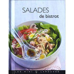 LIVRE CUISINE ENTRÉES Salades de bistrot