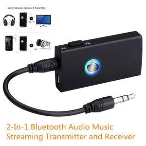 Récepteur audio 2-en-1 de 3,5 mm Bluetooth Audio Transmitter Musiq